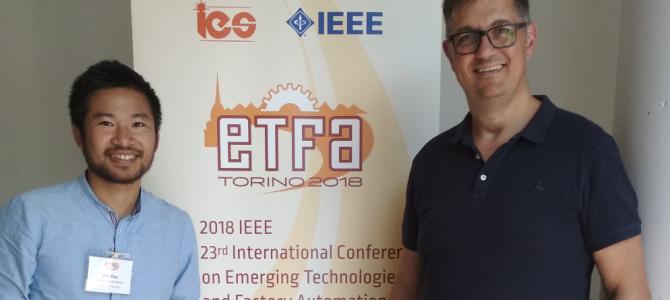ETFA 2018 Conference