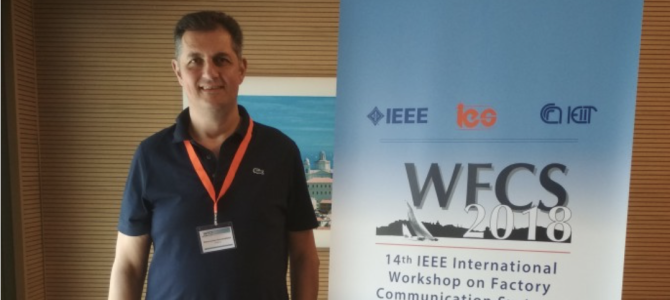 Participation in the 14th IEEE International Workshop on Factory Communication Systems in Imperia, Italy on June 13-15, 2018